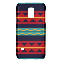 Rhombus And Waves Chains Patternsamsung Galaxy S5 Mini Hardshell Case