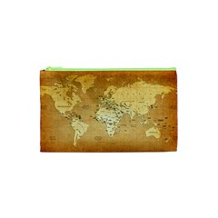 World Map Cosmetic Bag (XS)
