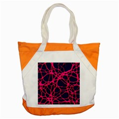 Hot Web Pink Accent Tote Bag