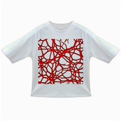 Hot Web Red Infant/toddler T Shirts