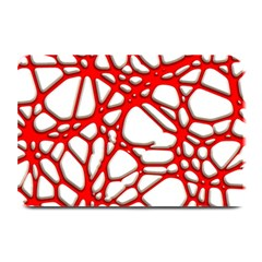 Hot Web Red Plate Mats
