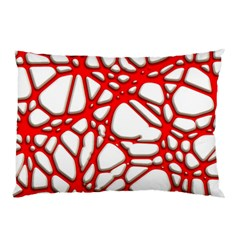 Hot Web Red Pillow Cases