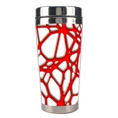 Hot Web Red Stainless Steel Travel Tumblers