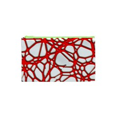 Hot Web Red Cosmetic Bag (xs)