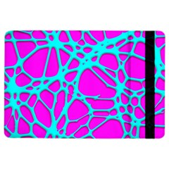 Hot Web Turqoise Pink Ipad Air 2 Flip