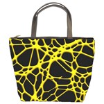 Hot Web Yellow Bucket Bags Front