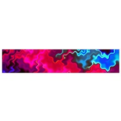 Psychedelic Storm Flano Scarf (Small)