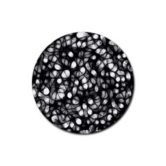 Chaos Decay Rubber Round Coaster (4 Pack)