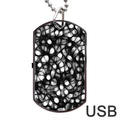 Chaos Decay Dog Tag Usb Flash (one Side)