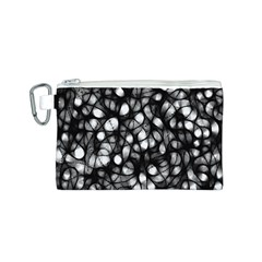 Chaos Decay Canvas Cosmetic Bag (S)