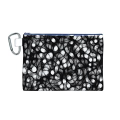 Chaos Decay Canvas Cosmetic Bag (M)