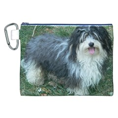Havanese Full Canvas Cosmetic Bag (XXL)
