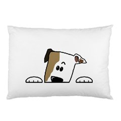 Peeping Bulldog Pillow Cases (Two Sides)