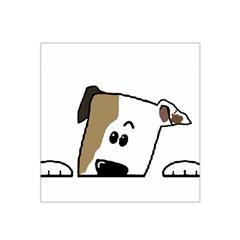 Peeping Bulldog Satin Bandana Scarf