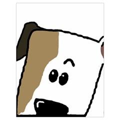 Peeping Bulldog Drawstring Bag (Large)