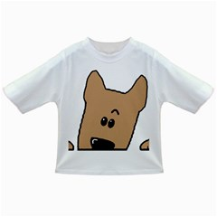Peeping Yorkshire terrier Infant/Toddler T-Shirts