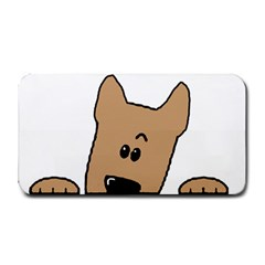 Peeping Yorkshire terrier Medium Bar Mats