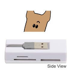 Peeping Yorkshire terrier Memory Card Reader (Stick)