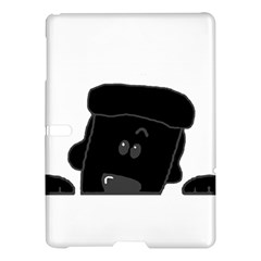 Peeping Black  Poodle Samsung Galaxy Tab S (10.5 ) Hardshell Case