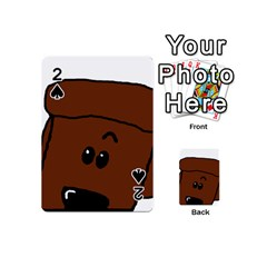 Peeping Chocolate Poodle Playing Cards 54 (Mini)