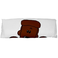 Peeping Chocolate Poodle Body Pillow Cases Dakimakura (two Sides)