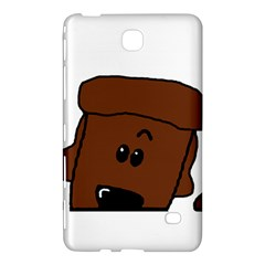 Peeping Chocolate Poodle Samsung Galaxy Tab 4 (7 ) Hardshell Case