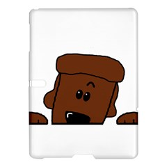 Peeping Chocolate Poodle Samsung Galaxy Tab S (10.5 ) Hardshell Case
