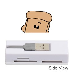 Peeping Peach Poodle Memory Card Reader (stick)
