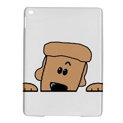 Peeping Peach Poodle iPad Air 2 Hardshell Cases