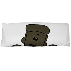 Peeping Silver  Poodle Body Pillow Cases (Dakimakura)