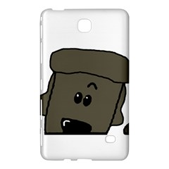 Peeping Silver  Poodle Samsung Galaxy Tab 4 (7 ) Hardshell Case