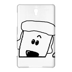 Peeping White Poodle Samsung Galaxy Tab S (8.4 ) Hardshell Case