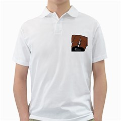 Peeping Boxer Golf Shirts