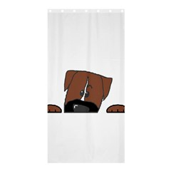 Peeping Boxer Shower Curtain 36  x 72  (Stall)