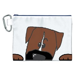 Peeping Boxer Canvas Cosmetic Bag (XXL)