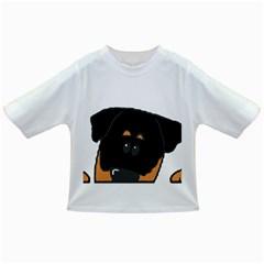 Peeping Rottweiler Infant/Toddler T-Shirts