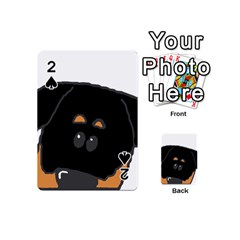 Peeping Rottweiler Playing Cards 54 (Mini)