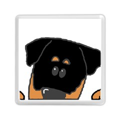Peeping Rottweiler Memory Card Reader (Square)