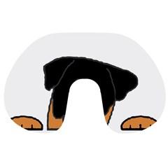 Peeping Rottweiler Travel Neck Pillows