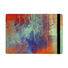 Abstract in Green, Orange, and Blue Apple iPad Mini Flip Case