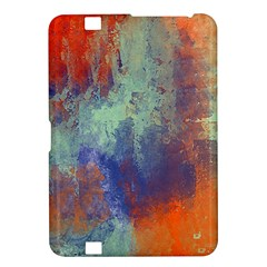 Abstract In Green, Orange, And Blue Kindle Fire Hd 8 9
