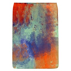 Abstract In Green, Orange, And Blue Flap Covers (l)