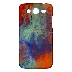 Abstract in Green, Orange, and Blue Samsung Galaxy Mega 5.8 I9152 Hardshell Case