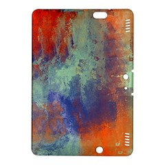 Abstract In Green, Orange, And Blue Kindle Fire Hdx 8 9  Hardshell Case