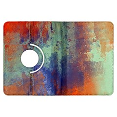 Abstract in Green, Orange, and Blue Kindle Fire HDX Flip 360 Case