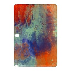 Abstract In Green, Orange, And Blue Samsung Galaxy Tab Pro 10 1 Hardshell Case