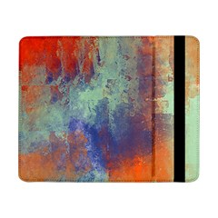 Abstract In Green, Orange, And Blue Samsung Galaxy Tab Pro 8 4  Flip Case