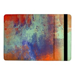 Abstract In Green, Orange, And Blue Samsung Galaxy Tab Pro 10 1  Flip Case