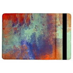 Abstract in Green, Orange, and Blue iPad Air Flip