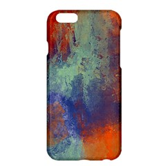 Abstract In Green, Orange, And Blue Apple Iphone 6/6s Plus Hardshell Case